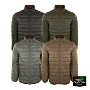 Drake Waterfowl Systems Synthetic Double Down Insulated Full Zip Jacket Coat