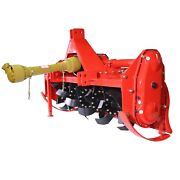 Titan Attachments Rotary Tiller 60 Heavy Duty Cat 1 Hitch 5 Adjustable Heights