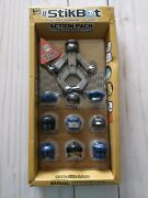 Nib Stikbot Action Pack Role Play Accessory Set Helmet Pack By Zing Global Ltd