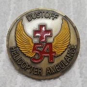 Authentic 54th Helicopter Ambulance Air Rescue Dustoff Old Rare Challenge Coin