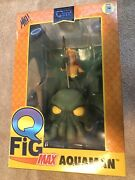 Qmx Exclusive Aquaman And Cthulhu Q-fig Max Figurine Sdcc 2016 New Artist Signed