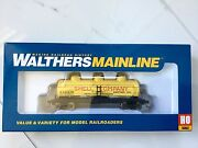 Walthers Mainline 1/87 Ho Shell Oil Co Rd 156 36' 3-dome Tank Car 910-1122 F/s