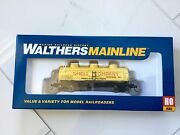 Walthers Mainline 1/87 Ho Shell Oil Co. Rd 157 36' 3-dome Tank Car 910-1121 F/s