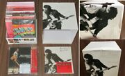 Bruce Springsteen Japan Mini Lp Card Sleeve Cd X 17 + Damaged Promo Box And Cover