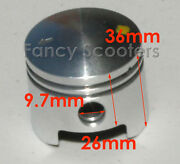 49cc Piston A For 2 Stroke Engine Apc Chopperstand Up Scooters