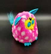 Vtg 2012 Pink W/white Polka Dot Interactive Tested And Works Furby Boom 19