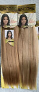 Human Hair Blend For Weaving By Janet Collection Encore 2-pack Bundle Blonde