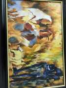 Handmade Canvas Oil Painting Made By Jamil Khan Free Shipping From India