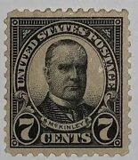 Travelstamps 1923 Us Stamps Scott 559 7c Mckinley Great Stamp Mint Mogh