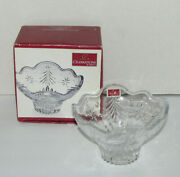 Celebrations By Mikasa Christmas Night Collection Footed Bowl 6 Inches