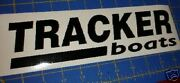 Tracker Boats Sticker Decal Black Bass Boat You Get 2