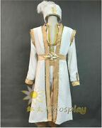 Aladdin 2019 Costume Cosplay Outfits Hat Vest Adult Full Set Halloween