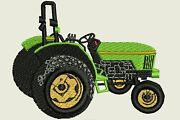 Farming And Tractors Machine Embroidery Designs 104 - Cd/usb/floppy - 11 Formats