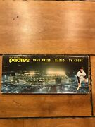1969 1970 San Diego Padres 1st Year Press Radio Television Media Guide Lot Rare