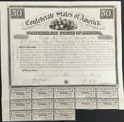 50 Confederate States Coupon Bond Andndash Criswell 5 Ball 2