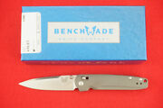Benchmade 485 Valet Axis Lock Gent Knife M390 Knife G-10 Handle