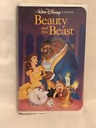 Beauty And The Beast Vhs Rare Black Diamond Edition. Excellent Used Condition.