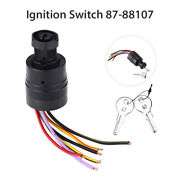 Ignition Switch Push To Choke 87-88107 For Boat Marine Mercury Outboards 2 Keys