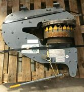 Hand Operated Turret Type Lever Metal Punching Machine Rotex Punch Co. Inc