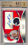 2010 Bowman Sterling Usa Bball Relic Red 1/1 Sonny Gray Rc Bgs 9.5 10 Sub 9 Auto