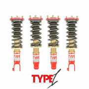 For 96-00 Honda Civic Ek9 Type 1 Function And Form Height Adjustable Coilovers