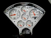 55-56 Chevy Custom 6 Gauge Instrument Panel Assembly