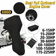 Boat Motor Cover Protection Waterproof Outboard Engine Protector Accessory Tools