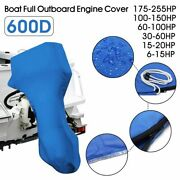 Outboard Engine Boat Cover Motor Protector Waterproof Oxford Fabric Outdoor Case