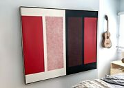 Mid-century Abstract Painting Hilton Brown Ambivalence Series 2 - No. 6 1965