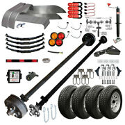 Tk 7k Trailer Kit - Master Plan 12cc - 12and039 X 6and039 Covered Cargo Trailer