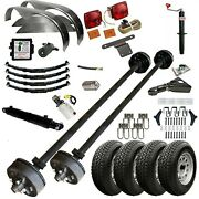 Tk 7k Trailer Kit - Master Plan 10hd - 5and039 X 10and039 Hydraulic Dump Trailer