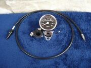 For 1973-90 Harley Sportster Fx And Fxr 21 Ratio Mini Speedometer Kit With Cable