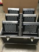 Quantity 6 Sgm Palco 3 Ip65 Waterproof With Road Case On Wheels + Brackets