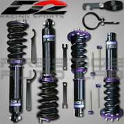 D2 Racing Rs Adjustable Coilovers Kit Damper Adjustment For Acura Tsx 2003-2008
