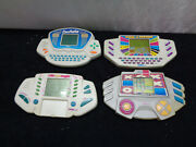 Set Of 4 Vintage Tiger Electronic Games Tested And Working Oaw28-817