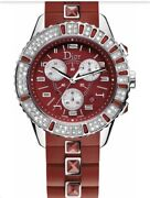 Christian Dior Womenand039s Christal Red Sapphire And White Diamonds Cd11431bbvfe9669