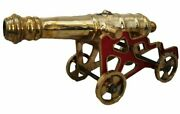 Antique Style Cannon With Stand Andndash Brass Andndash Heavy And Large - Best Collection 5001