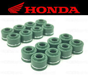 Set Of 16 Intake And Exhaust Valve Stem Seals Honda See Fitment Chart