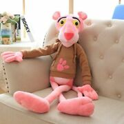 55-130cm Pink Panther Plush Toy Cute Soft Stuffed Doll Toy Kids Gift Home Decor