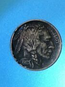 1913 Type I Buffalo Nickel Extremely Fine - Full Horn - In Bcw Slab