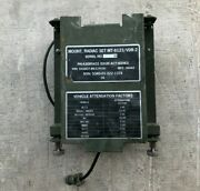 Military Radiac Detector Set Mount Resilient General Purpose Electronic Research