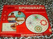 Vintage Kenners 1967 - Spirograph Game Complete W/no Pens