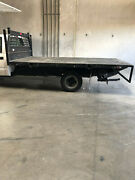 12and039 Stakebed With Liftgate All Stake Rail Sides And Storage Box Included