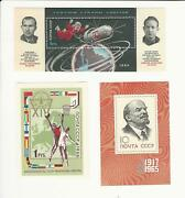 Russia, Postage Stamp, 3016, 3111, 3113 Mint Nh, 1965 Space, Basketball, Jfz