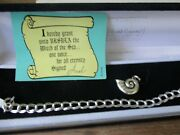 Classics Walt Disney Collection Sterling Silver Bracelet And Charm