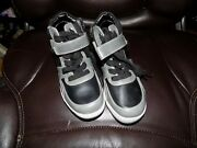 Kenneth Cole Reaction Scout Ranger Black/gray High Top Shoes Size 13 Boyand039s Nwob