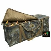 Rig'em Right Waterfowl 12 Slot Deluxe Duck Decoy Bag Gore Optifade Timber Camo