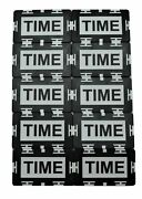 10 Time Plaque Tournament Time Extension Casino Poker Home Use