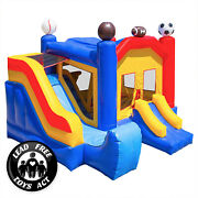 Commercial Grade Bounce House 100 Pvc Sports Jump Inflatable Only