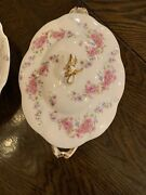 Antique D C France Limoges Higgins And Seiter New York Soup Tureen Handpainted1890
